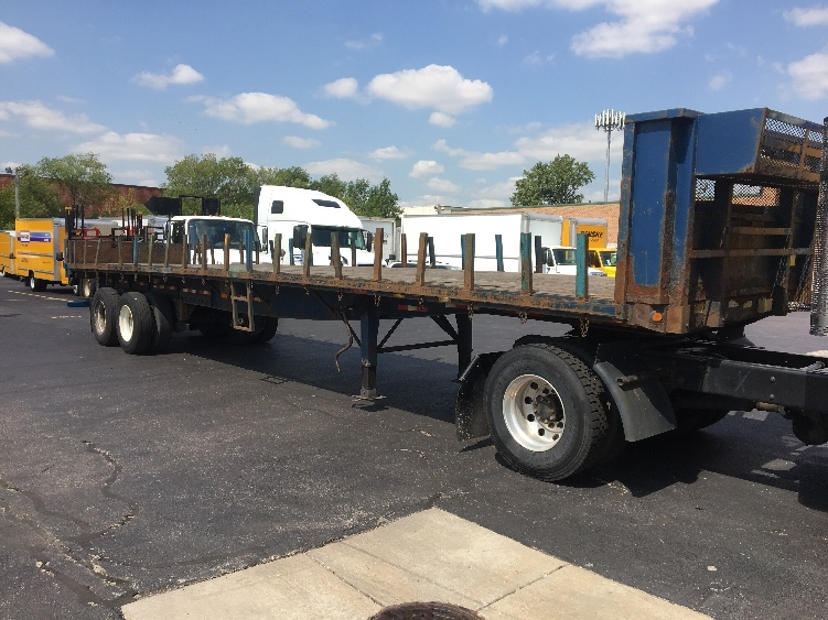 Flatbed Trailer-Semi Trailers-Great Dane-2008-Trailer-ROCKFORD-IL-197,362 miles-$11,250