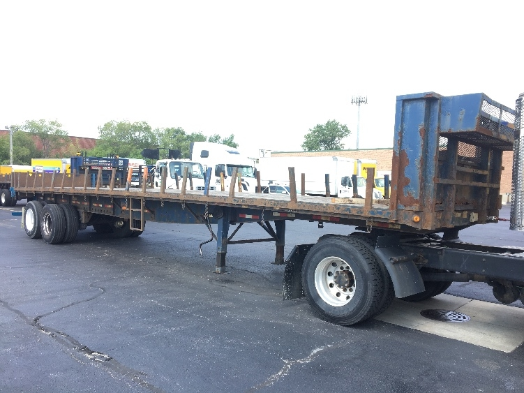 Flatbed Trailer-Semi Trailers-Great Dane-2008-Trailer-ROCKFORD-IL-414,374 miles-$11,250