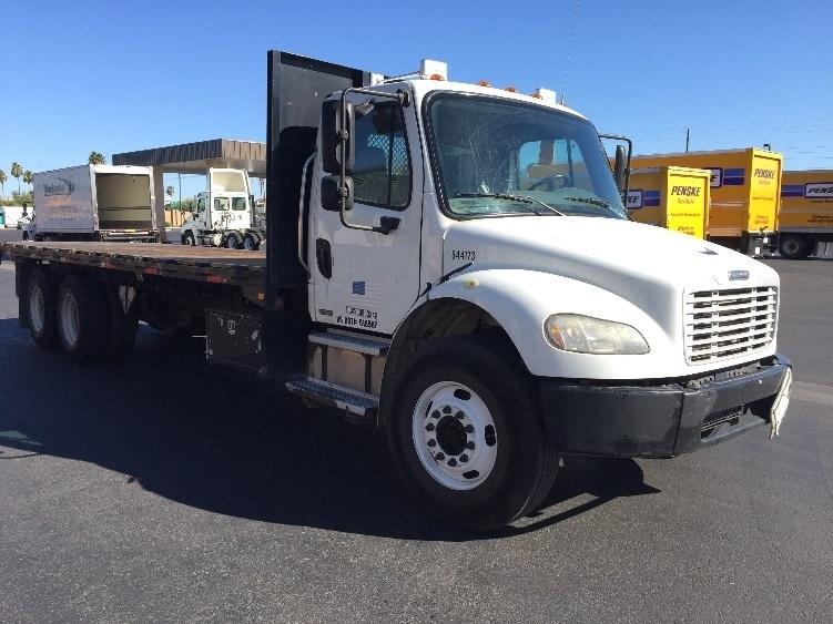 Flatbed Truck-Light and Medium Duty Trucks-Freightliner-2007-M2-PHOENIX-AZ-235,529 miles-$32,500