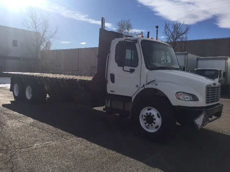 Flatbed Truck-Light and Medium Duty Trucks-Freightliner-2007-M2-DENVER-CO-269,770 miles-$30,000