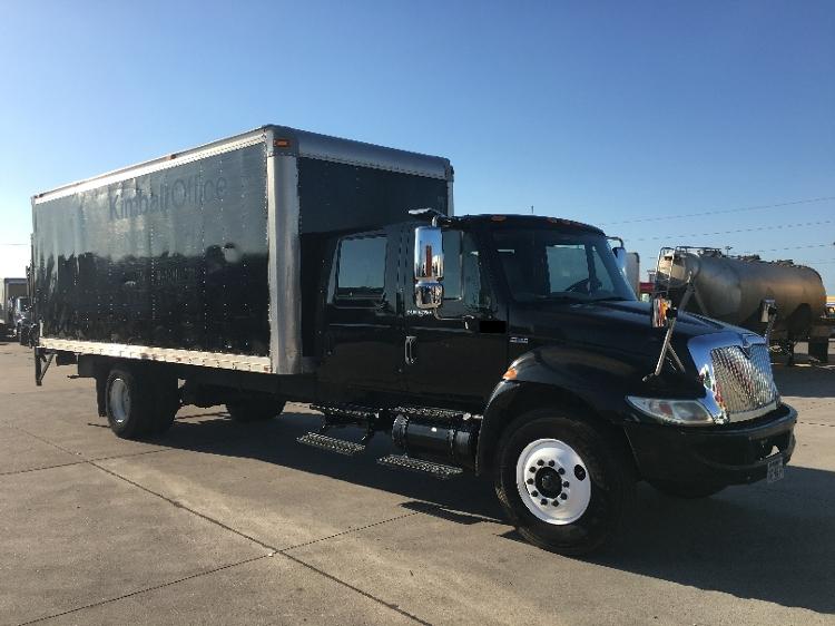 Medium Duty Box Truck-Light and Medium Duty Trucks-International-2008-4300-HOUSTON-TX-154,242 miles-$10,500