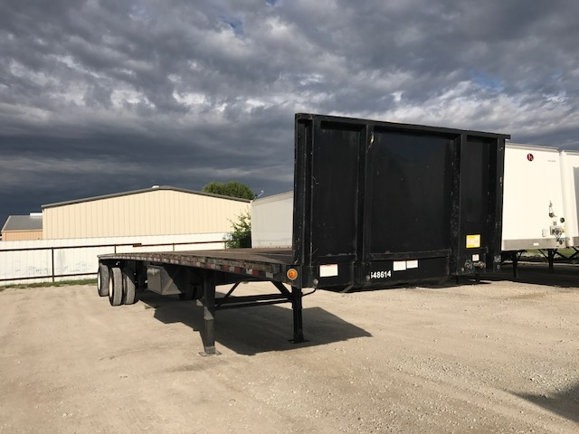 Flatbed Trailer-Semi Trailers-Great Dane-2008-Trailer-WEATHERFORD-TX-444,503 miles-$14,250