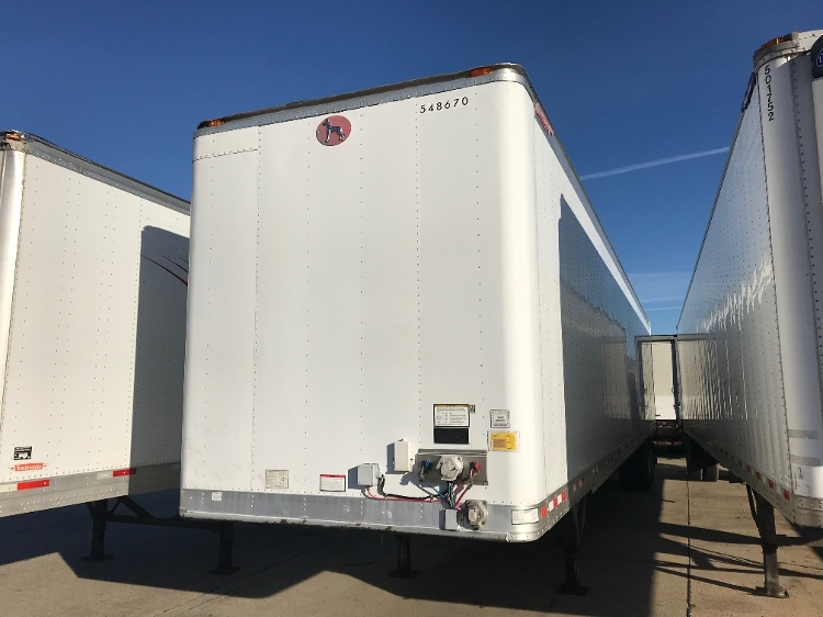 Dry Van Trailer-Semi Trailers-Great Dane-2008-Trailer-BATON ROUGE-LA-476,401 miles-$14,750