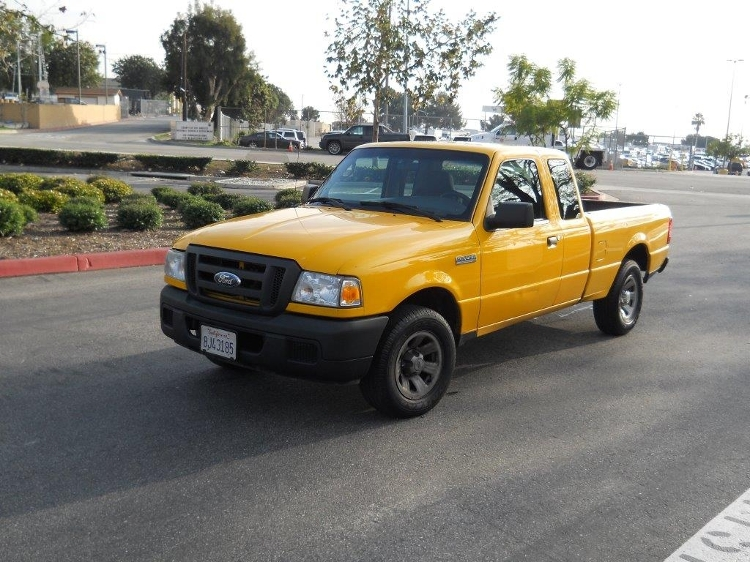 Pickup Truck-Light and Medium Duty Trucks-Ford-2007-RANGER-TORRANCE-CA-151,067 miles-$6,250