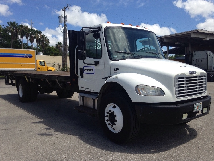 Flatbed Truck-Light and Medium Duty Trucks-Freightliner-2008-M2-MEDLEY-FL-172,440 miles-$26,750