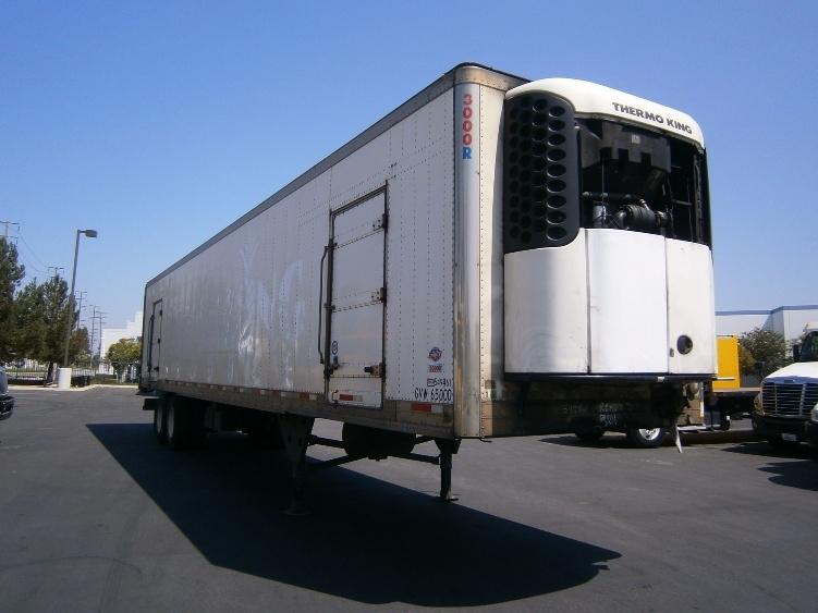 Reefer Trailer-Semi Trailers-Utility-2008-Trailer-MONTEBELLO-CA-202,119 miles-$17,500