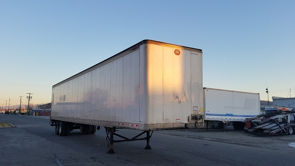 Dry Van Trailer-Semi Trailers-Great Dane-2008-Trailer-SPOKANE VALLEY-WA-911,227 miles-$11,250