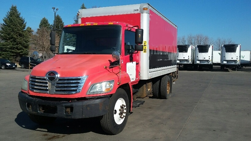 Medium Duty Box Truck-Light and Medium Duty Trucks-Hino-2008-338-BROOKLYN PARK-MN-163,222 miles-$24,250