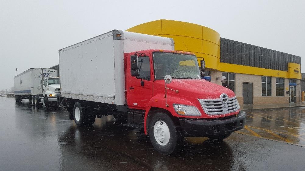 Medium Duty Box Truck-Light and Medium Duty Trucks-Hino-2008-338-ROCKFORD-IL-216,617 miles-$23,000