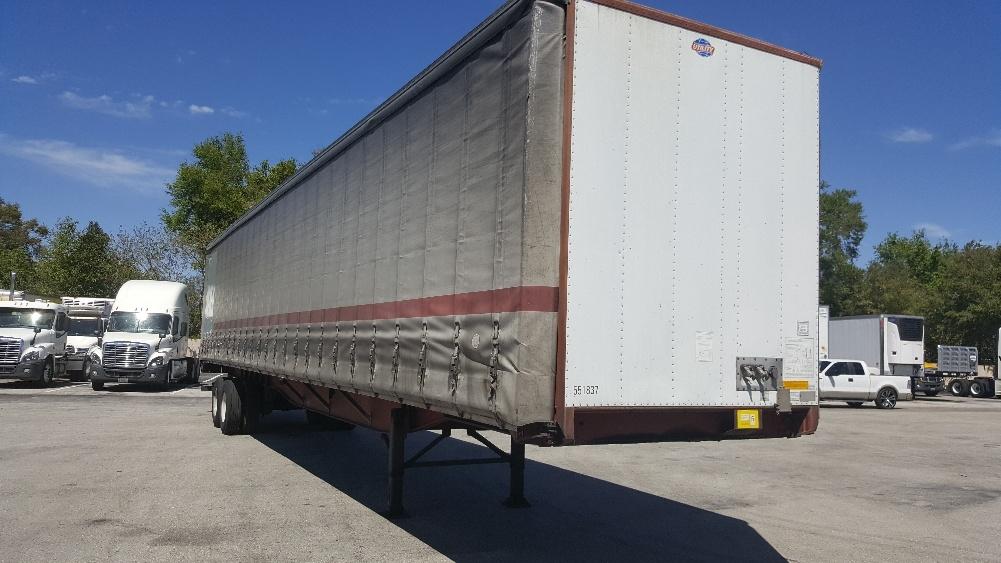 Dry Van Trailer-Semi Trailers-Utility-2008-Trailer-LAKELAND-FL-393,972 miles-$14,000