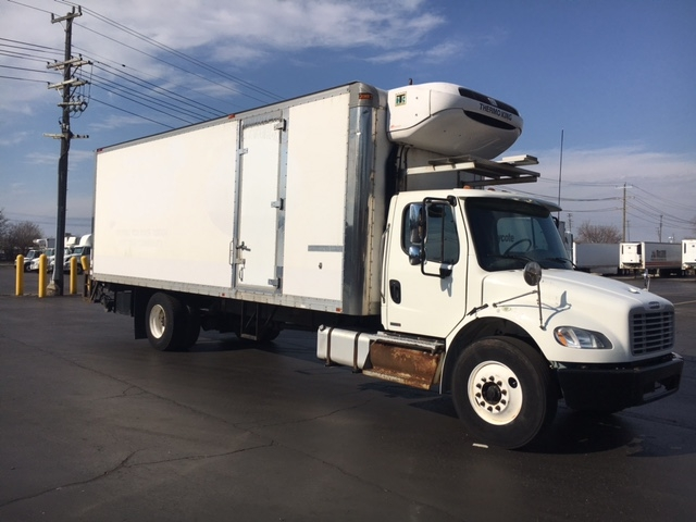 Reefer Truck-Light and Medium Duty Trucks-Freightliner-2011-M2-PLYMOUTH-MI-206,198 miles-$33,500