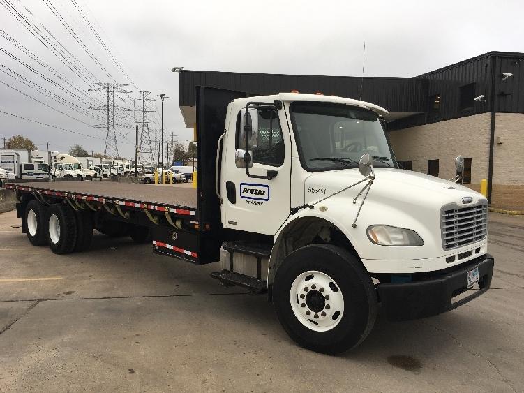 Flatbed Truck-Light and Medium Duty Trucks-Freightliner-2008-M2-HOUSTON-TX-269,775 miles-$37,750