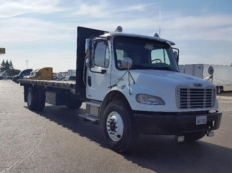 Flatbed Truck-Light and Medium Duty Trucks-Freightliner-2008-M2-LA MIRADA-CA-67,422 miles-$37,250