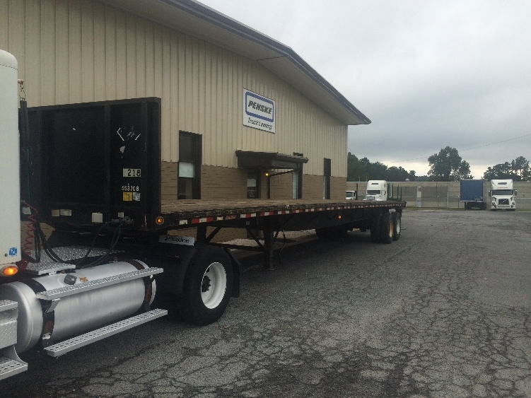 Flatbed Trailer-Semi Trailers-Great Dane-2008-Trailer-MEBANE-NC-717,759 miles-$17,000