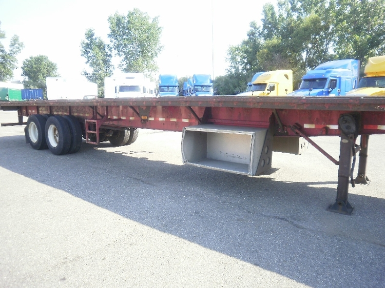 Flatbed Trailer-Semi Trailers-Great Dane-2009-Trailer-AKRON-OH-504,155 miles-$14,750
