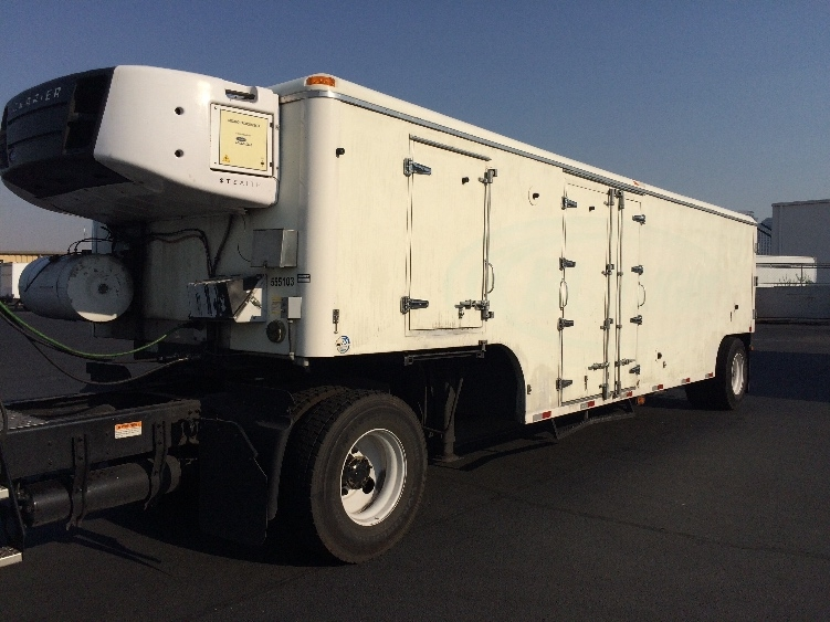 Reefer Trailer-Semi Trailers-Johnson-2008-Trailer-LAS VEGAS-NV-47,459 miles-$26,500