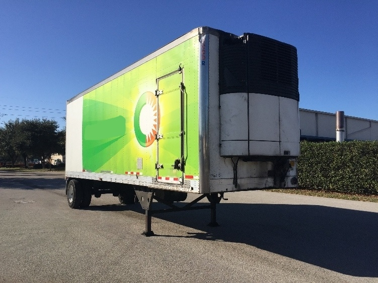 Reefer Trailer-Semi Trailers-Utility-2008-Trailer-TAMPA-FL-460,186 miles-$8,500