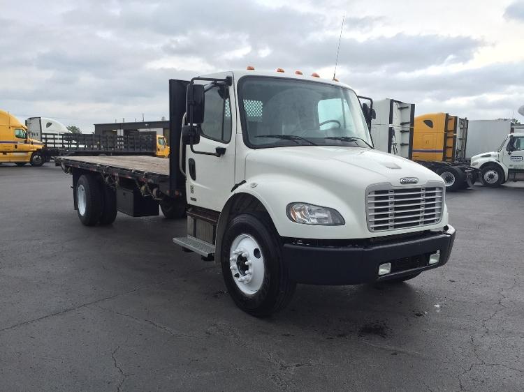 Flatbed Truck-Light and Medium Duty Trucks-Freightliner-2009-M2-TULSA-OK-221,754 miles-$25,000