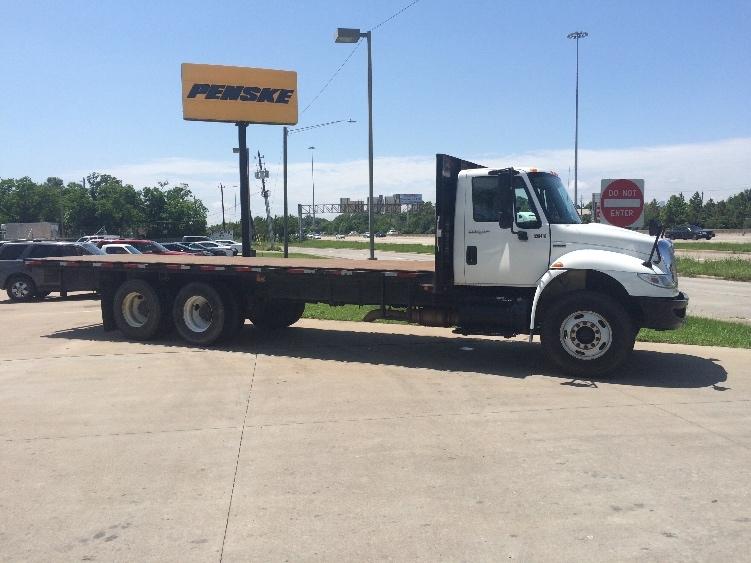 Flatbed Truck-Light and Medium Duty Trucks-International-2009-4400-HOUSTON-TX-197,983 miles-$34,250