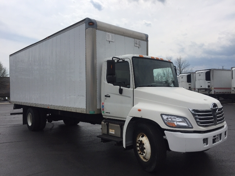 Medium Duty Box Truck-Light and Medium Duty Trucks-Hino-2009-338-MANASSAS-VA-280,744 miles-$19,500