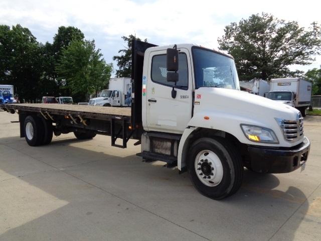 Flatbed Truck-Light and Medium Duty Trucks-Hino-2009-338-JESSUP-MD-159,755 miles-$25,500