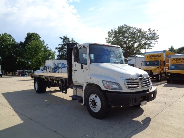 Flatbed Truck-Light and Medium Duty Trucks-Hino-2009-338-JESSUP-MD-121,079 miles-$27,000