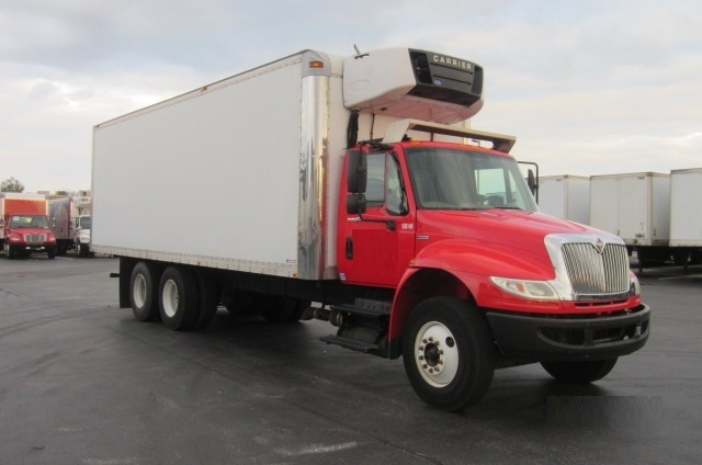 Reefer Truck-Light and Medium Duty Trucks-International-2009-4400-SWEDESBORO-NJ-130,093 miles-$43,750