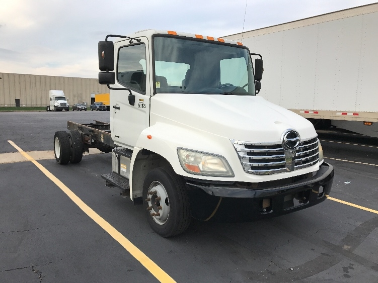 Cab and Chassis Truck-Light and Medium Duty Trucks-Hino-2009-258LP-EARTH CITY-MO-278,524 miles-$15,250