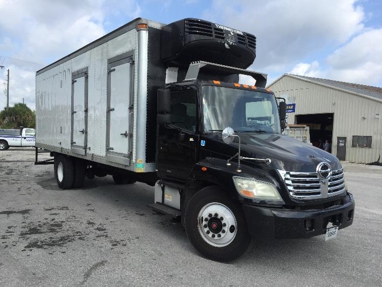 Reefer Truck-Light and Medium Duty Trucks-Hino-2009-338-OCALA-FL-145,867 miles-$31,250