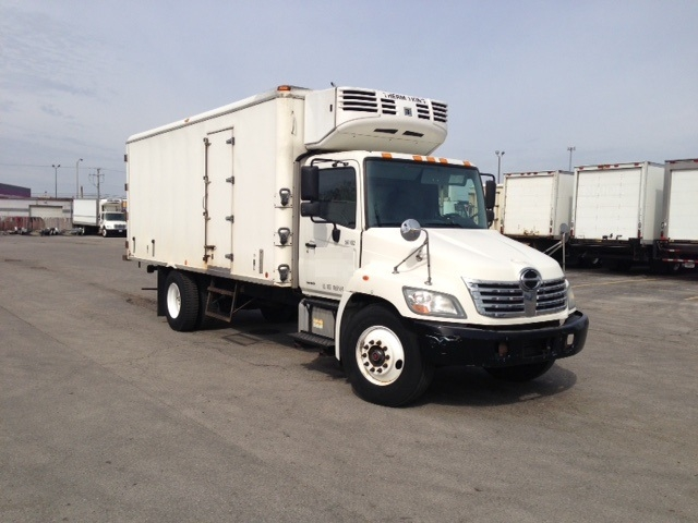 Reefer Truck-Light and Medium Duty Trucks-Hino-2009-268-CHICAGO RIDGE-IL-237,156 miles-$28,000
