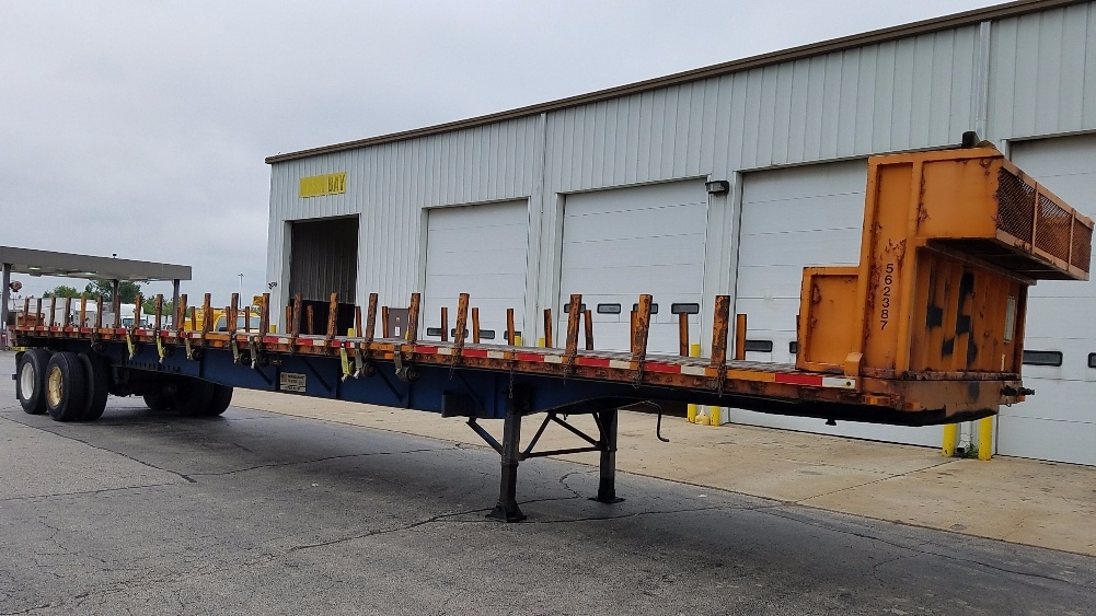 Flatbed Trailer-Semi Trailers-Transcraft-2009-Trailer-ROCKFORD-IL-460,655 miles-$11,500
