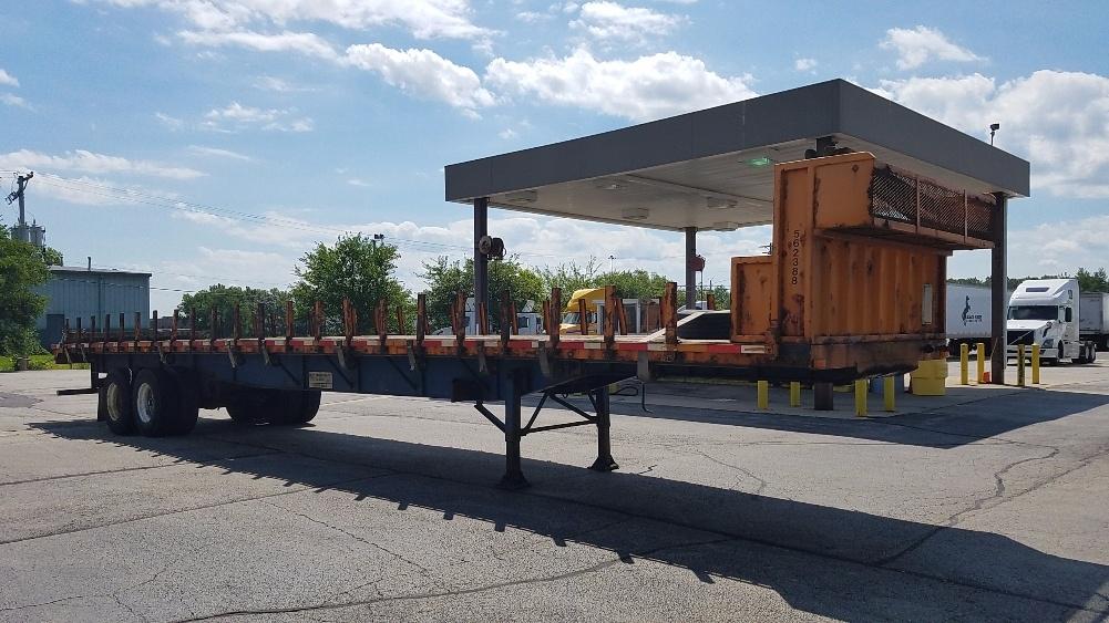 Flatbed Trailer-Semi Trailers-Transcraft-2009-Trailer-ROCKFORD-IL-399,995 miles-$18,750