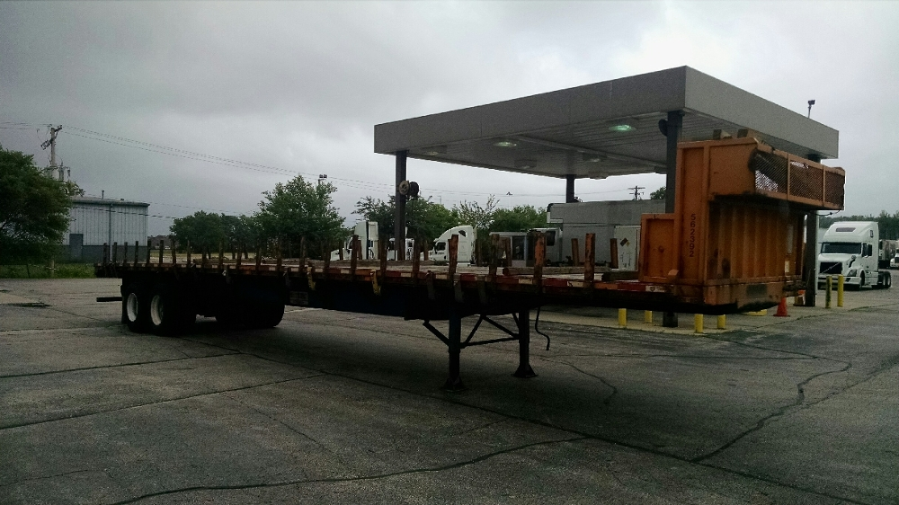 Flatbed Trailer-Semi Trailers-Transcraft-2009-Trailer-ROCKFORD-IL-496,465 miles-$11,750
