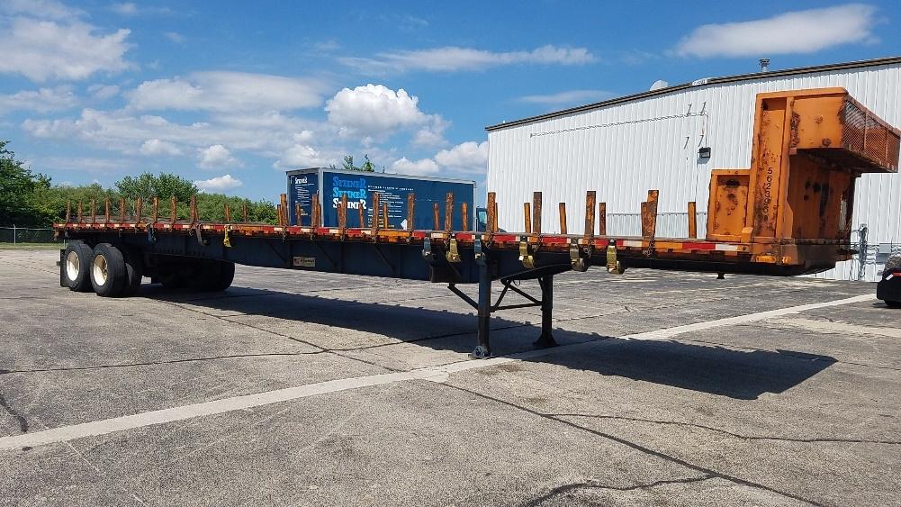 Flatbed Trailer-Semi Trailers-Transcraft-2009-Trailer-ROCKFORD-IL-480,548 miles-$18,750