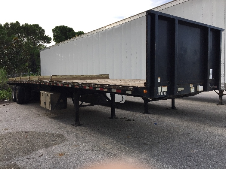 Flatbed Trailer-Semi Trailers-Great Dane-2009-Trailer-FORT MYERS-FL-183,854 miles-$12,000