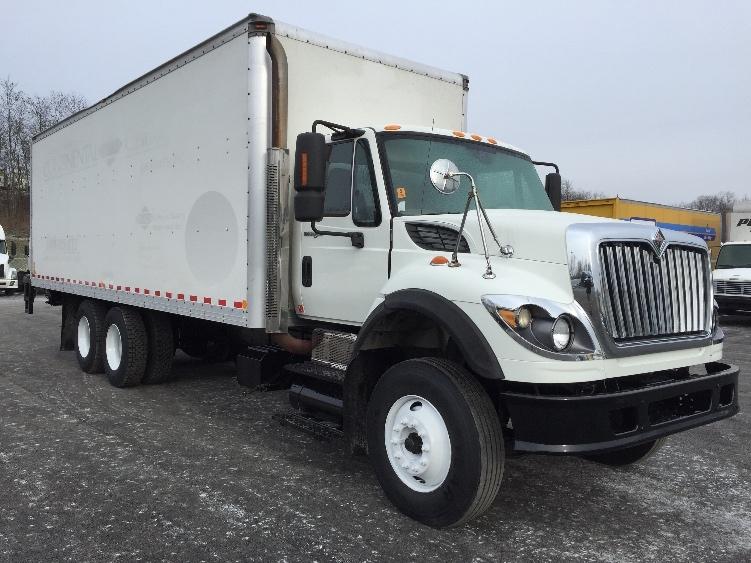 Medium Duty Box Truck-Light and Medium Duty Trucks-International-2009-7600-MOUNT PLEASANT-PA-283,502 miles-$37,500