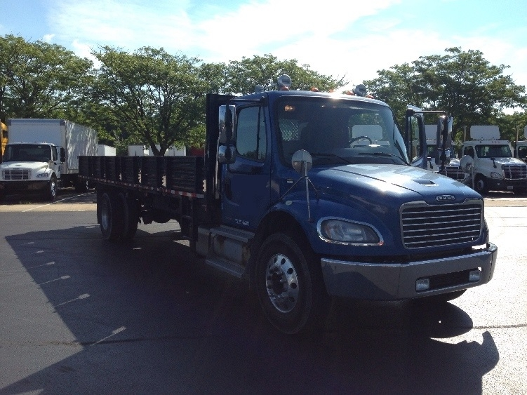 Flatbed Truck-Light and Medium Duty Trucks-Freightliner-2011-M2-CARLISLE-PA-346,884 miles-$22,000