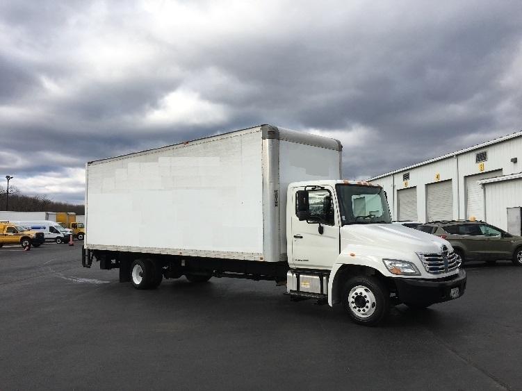 Medium Duty Box Truck-Light and Medium Duty Trucks-Hino-2009-258LP-CARLISLE-PA-160,938 miles-$31,750