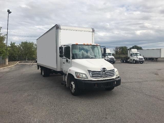 Medium Duty Box Truck-Light and Medium Duty Trucks-Hino-2009-258LP-BROOK PARK-OH-113,878 miles-$29,750