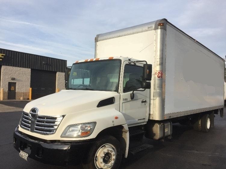 Medium Duty Box Truck-Light and Medium Duty Trucks-Hino-2009-258LP-ESSEX-MD-138,236 miles-$33,250
