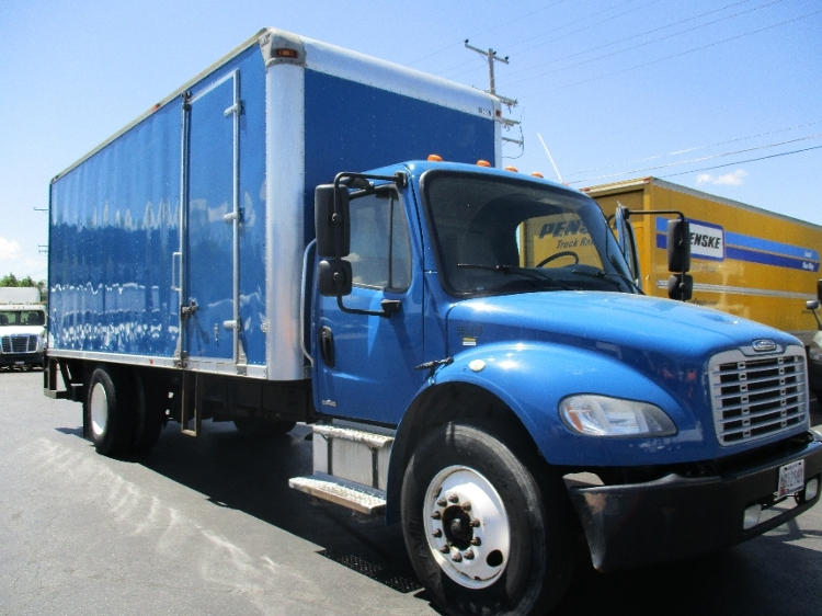 Medium Duty Box Truck-Light and Medium Duty Trucks-Freightliner-2009-M2-BALTIMORE-MD-184,915 miles-$25,250