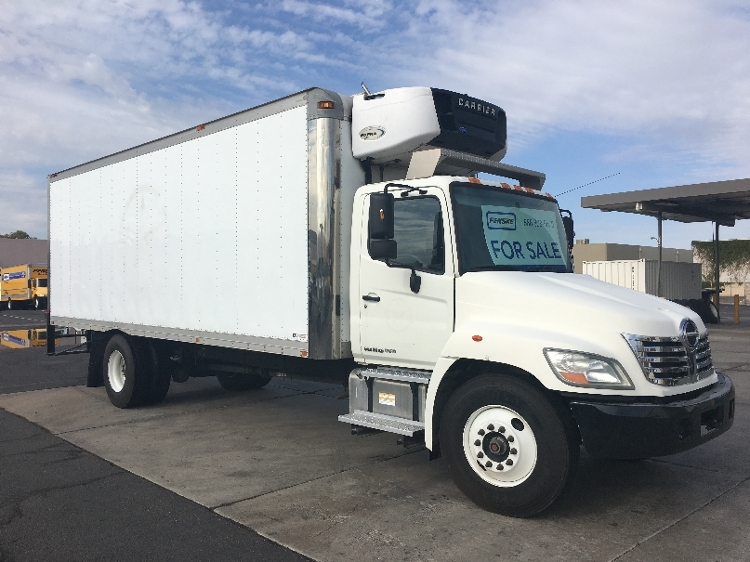 Reefer Truck-Light and Medium Duty Trucks-Hino-2010-268-PHOENIX-AZ-212,593 miles-$23,250