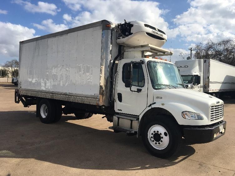 Reefer Truck-Light and Medium Duty Trucks-Freightliner-2009-M2-HOUSTON-TX-190,889 miles-$37,500