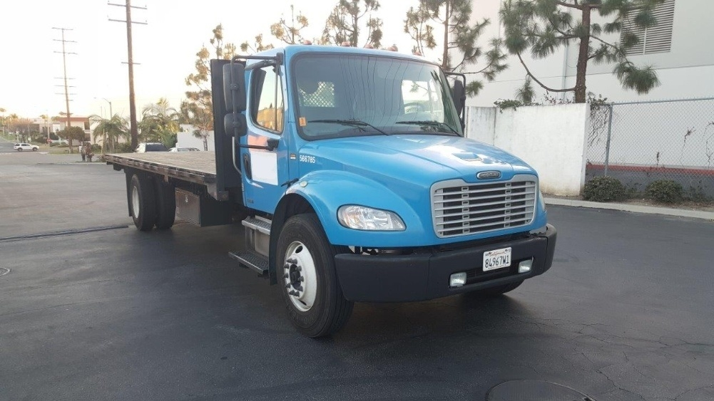 Flatbed Truck-Light and Medium Duty Trucks-Freightliner-2010-M2-TORRANCE-CA-234,776 miles-$28,750