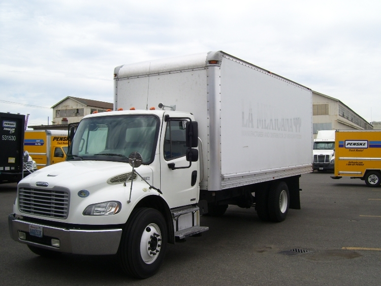 Medium Duty Box Truck-Light and Medium Duty Trucks-Freightliner-2009-M2-SEATTLE-WA-270,006 miles-$22,000
