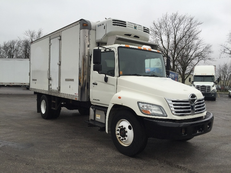 Reefer Truck-Light and Medium Duty Trucks-Hino-2009-268-MADISON-WI-156,645 miles-$29,000