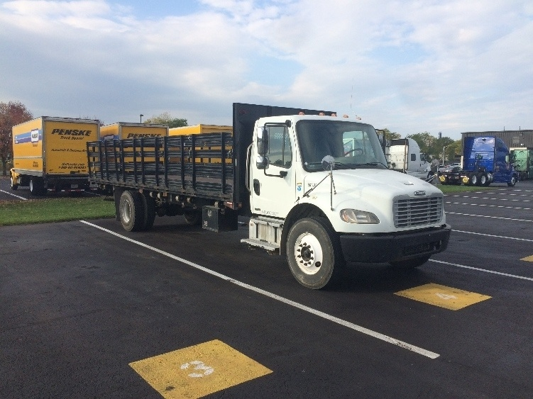 Flatbed Truck-Light and Medium Duty Trucks-Freightliner-2009-M2-CARLISLE-PA-242,926 miles-$27,250