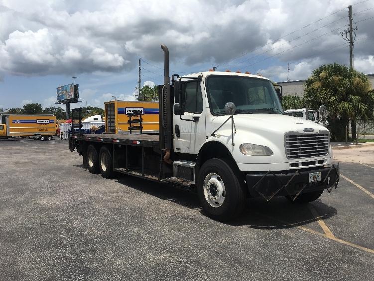 Flatbed Truck-Light and Medium Duty Trucks-Freightliner-2010-M2-ORLANDO-FL-270,001 miles-$35,000
