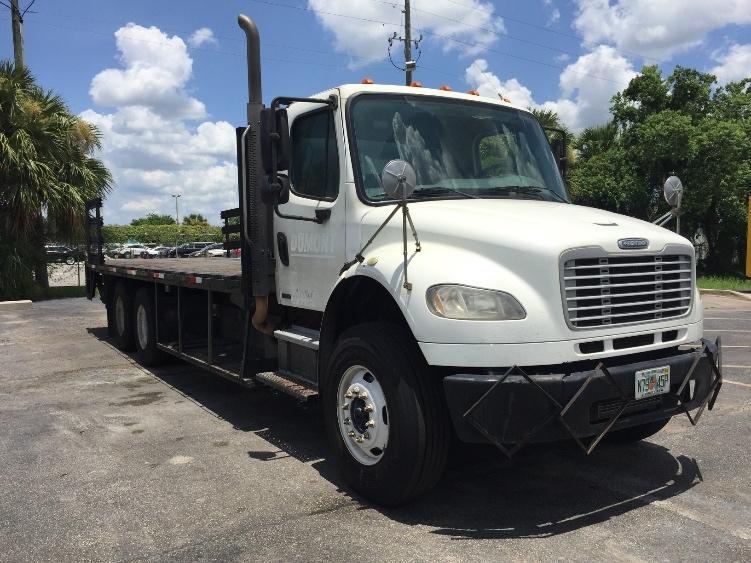 Flatbed Truck-Light and Medium Duty Trucks-Freightliner-2010-M2-ORLANDO-FL-199,215 miles-$39,500