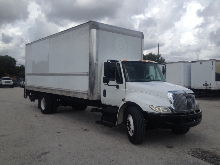 Medium Duty Box Truck-Light and Medium Duty Trucks-International-2010-4300-POMPANO BEACH-FL-169,040 miles-$7,000